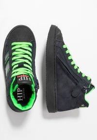 Hip - Sneakersy wysokie - dark blue - 0