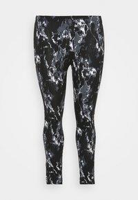 CAPSULE by Simply Be - MONO  - Leggings - Trousers - black - 0