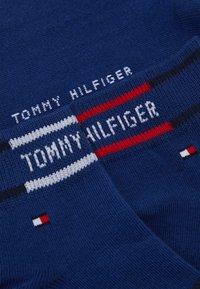 Tommy Hilfiger - MEN QUARTER BRETON STRIPE 2 PACK - Calze - blue depths - 1