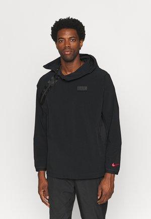 FRANKREICH FFF - Training jacket - black/university red