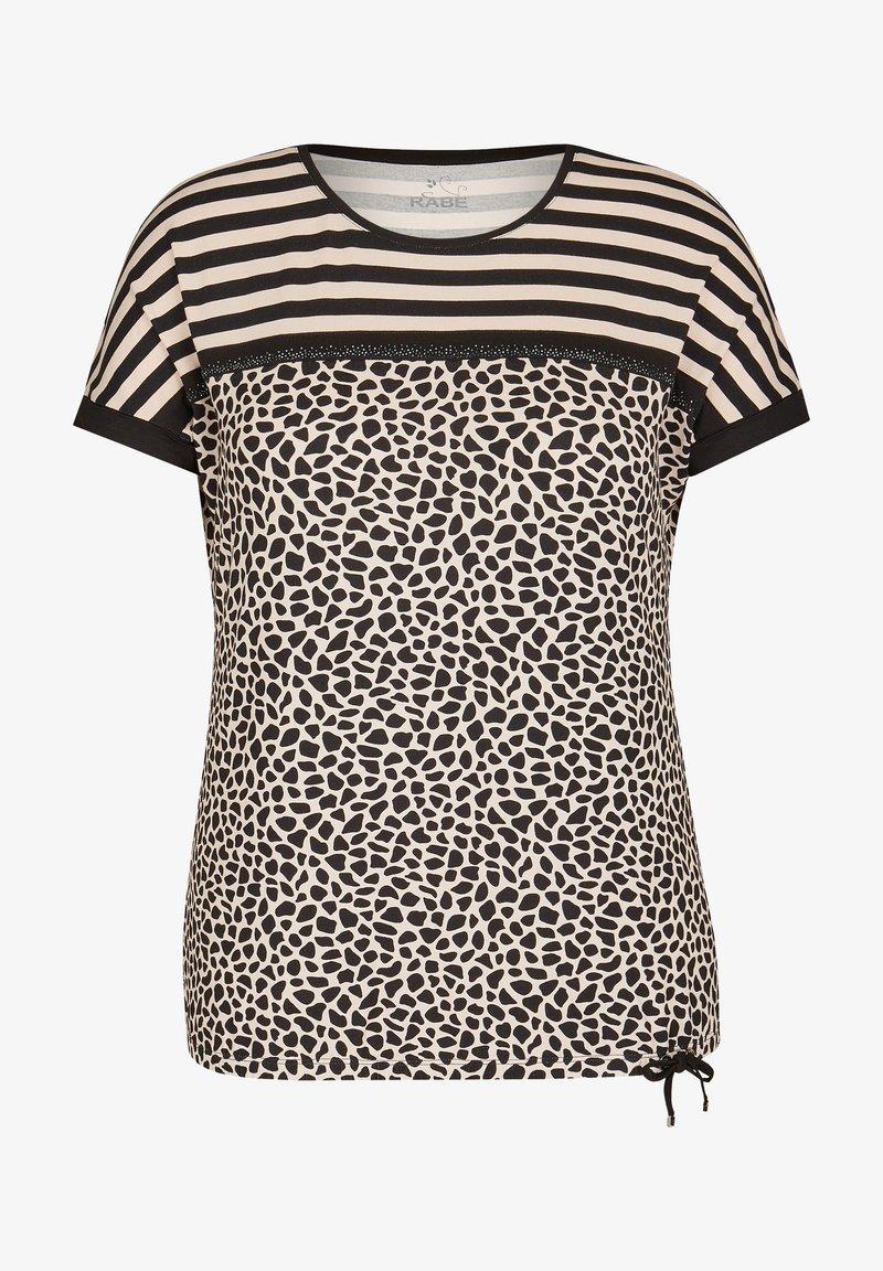 Rabe 1920 - Print T-shirt - beige