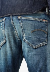 G-Star - 3301 SLIM - Slim fit jeans - antic faded baum blue - 2