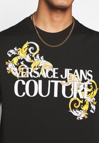 Versace Jeans Couture - MOUSE - Print T-shirt - black - 5