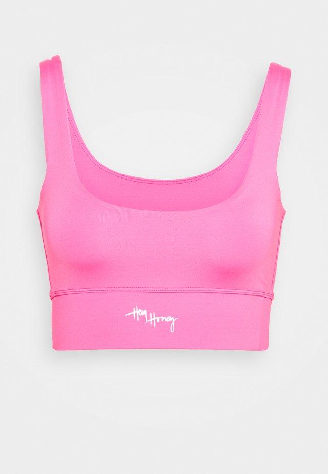 BUSTIER - Sport BH - pink