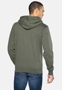 Threadbare - TANGERINE - Zip-up hoodie - dark khaki - 2