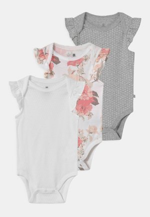 FLORAL 3 PACK - Body - optic white