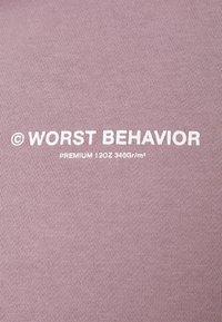 WRSTBHVR - HOODIE WARREN UNISEX - Hoodie - lilac - 2