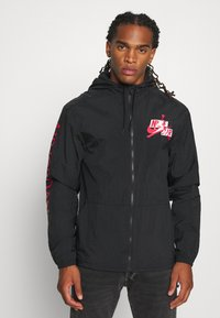 Jordan - JUMPMAN - Summer jacket - black/white - 0