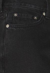 Weekday - RAIL  - Jeans baggy - almost black - 2