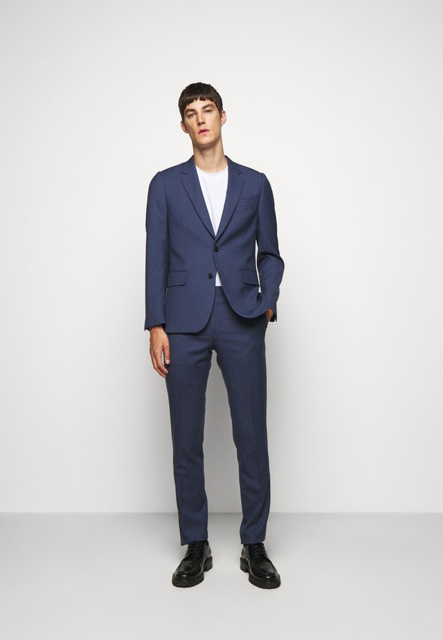 GENTS TAILORED FIT BUTTON SUIT - Costume - blue