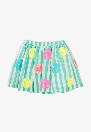 Áčková sukně - turquois