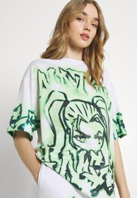 Jaded London - NOT YOUR - T-shirts med print - green - 3