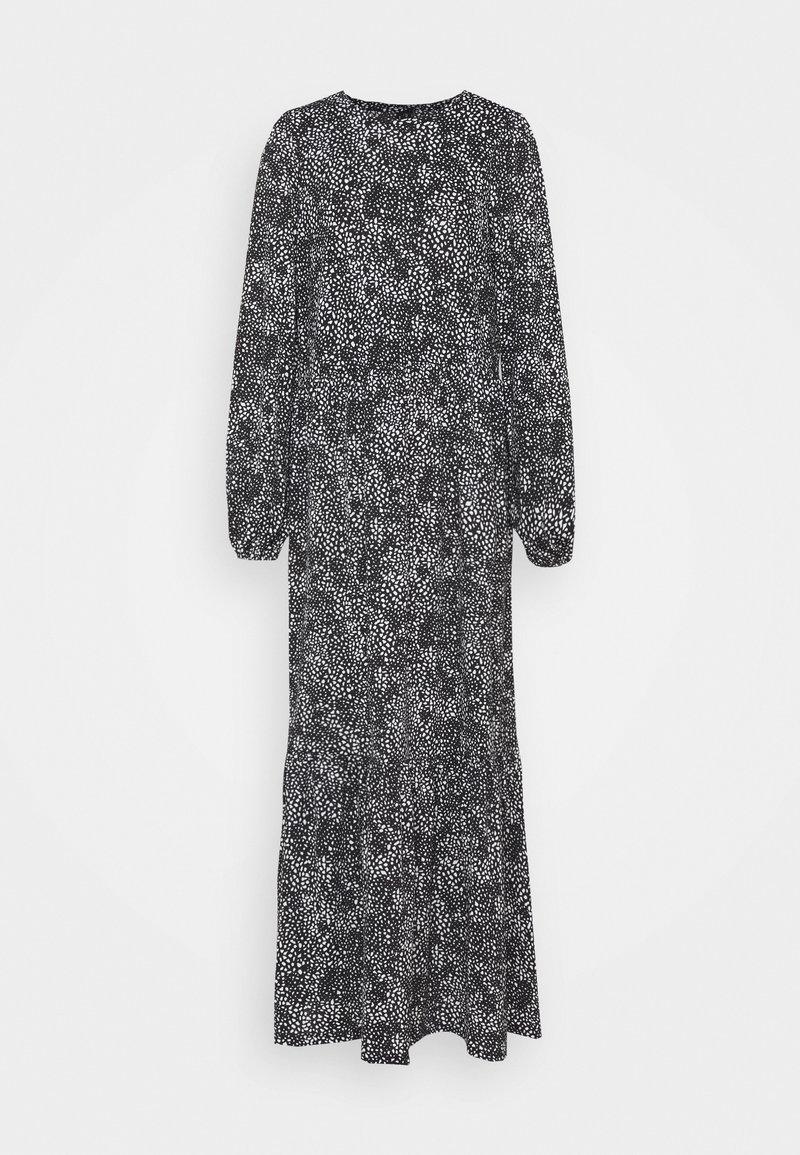 Vero Moda Tall - VMPYM ANCLE DRESS - Maxi dress - black/white