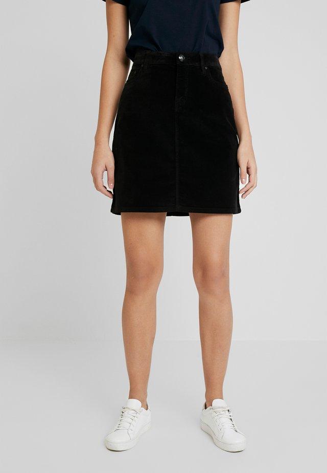 TRISHA SKIRT - Áčková sukně - black