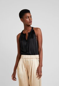 10DAYS - STRAPPY TOP - Blouse - black - 0