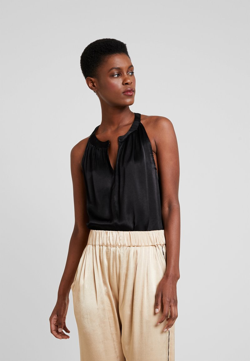 10DAYS - STRAPPY TOP - Blouse - black