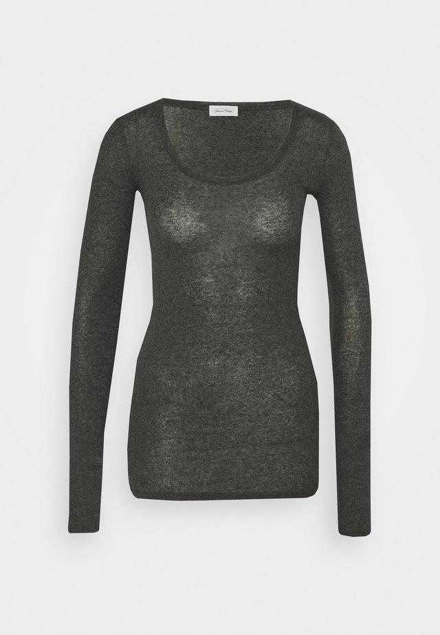 MASSACHUSETTS - Langærmede T-shirts - anthracite chine