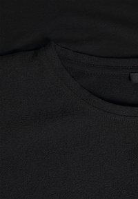 Opus - SUREEN - Long sleeved top - black - 2