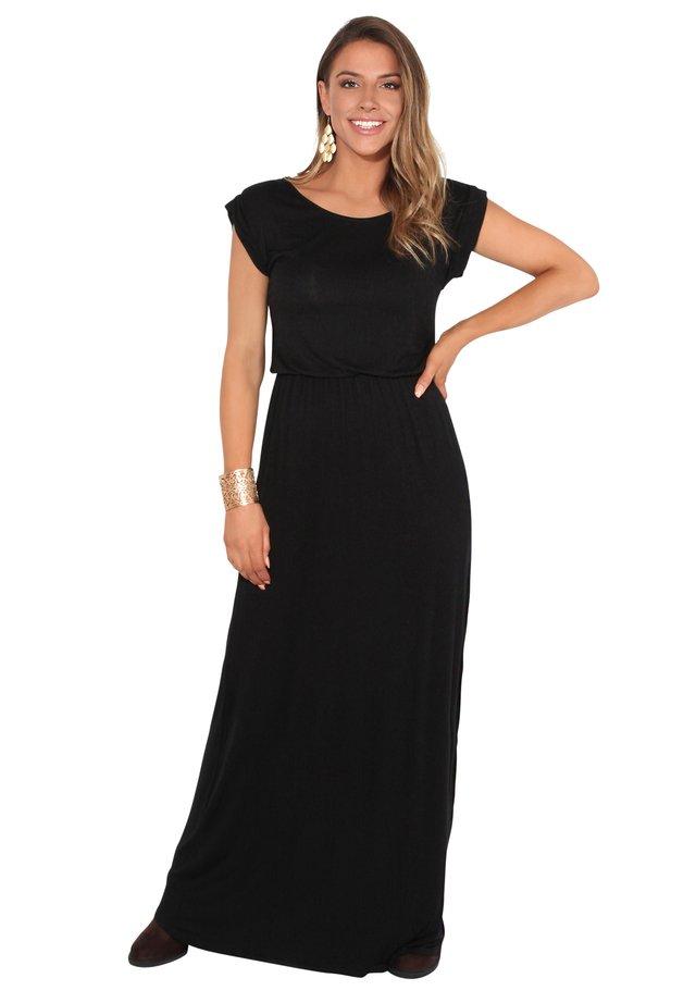 TURN UP - Maxi dress - black