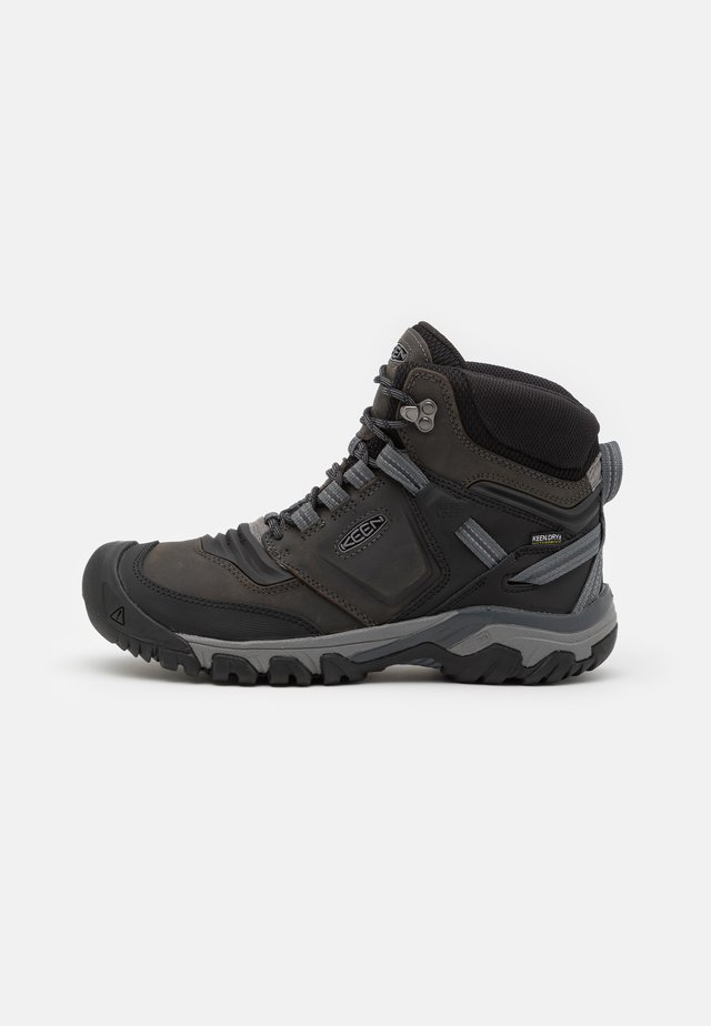 RIDGE FLEX MID WP - Scarpa da hiking - magnet/black