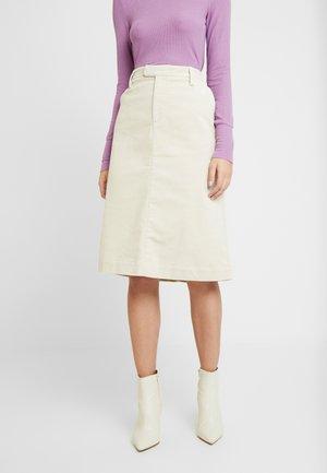 Áčková sukně - oatmeal