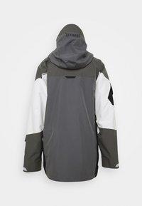 Burton - BANSHY CASTLEROCK  - Snowboard jacket - castlerock/multi - 10