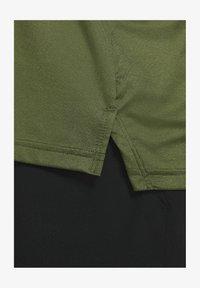 sequoia/rough green/heather/black