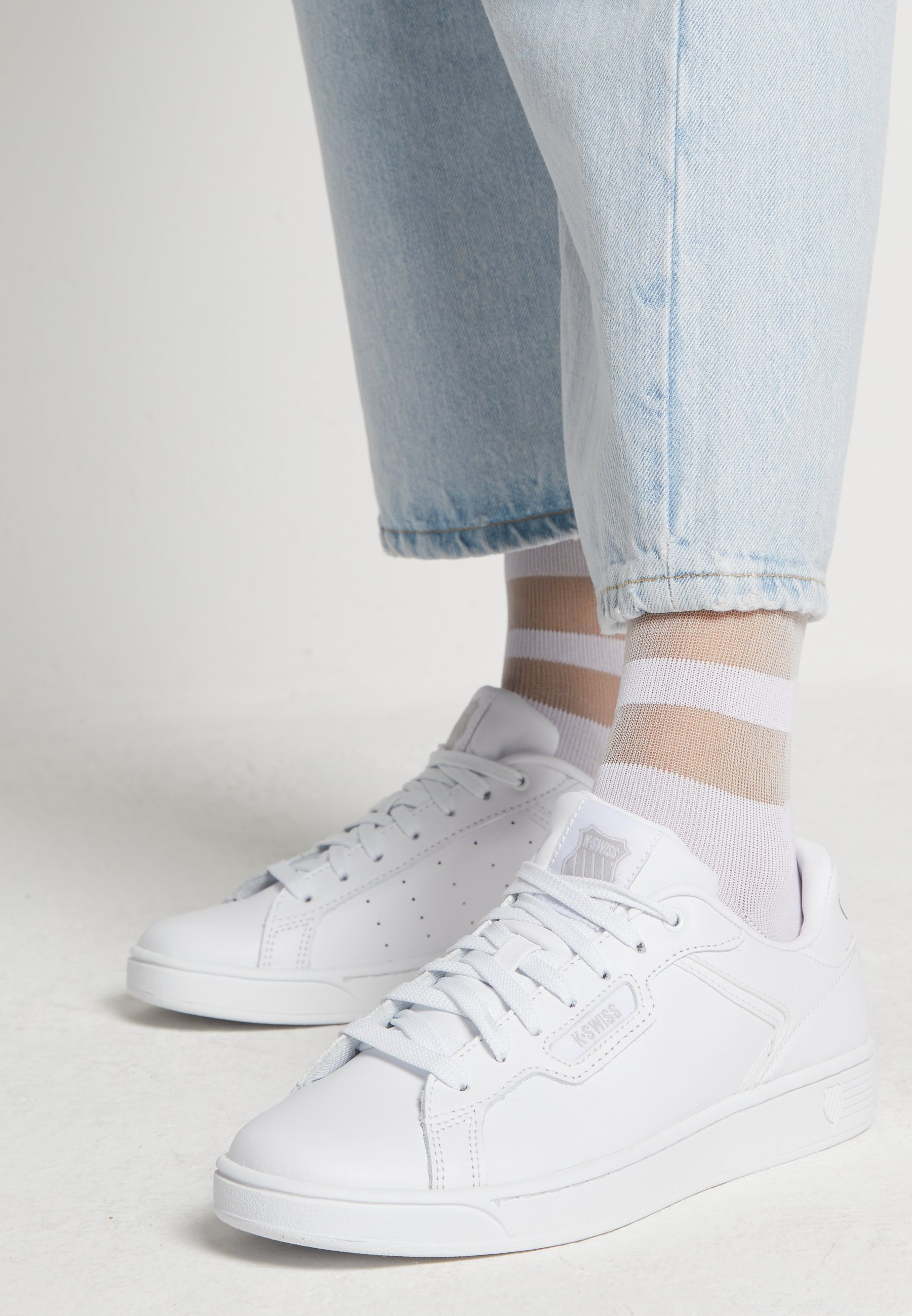 CLEAN COURT CMF Sneakers whitegull gray