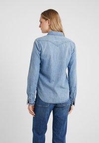 Polo Ralph Lauren - KATHERINE WASH - Skjorte - medium indigo - 2