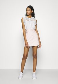 Levi's® - DECON ICONIC SKIRT - A-linjainen hame - slacker - 1