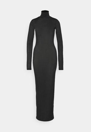 HALO DRESS - Maxikjole - black