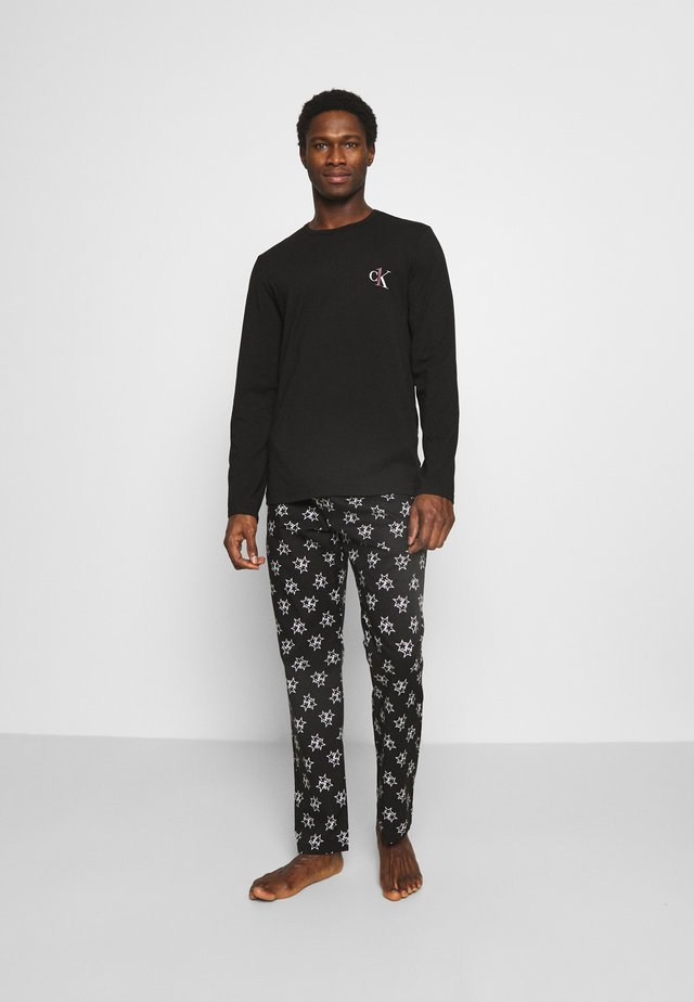 PANT SET - Pijama - black