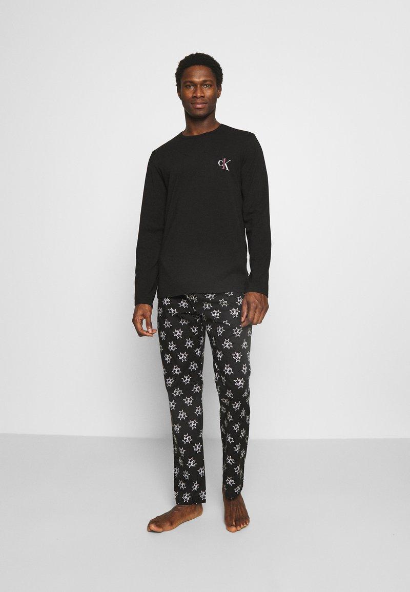 Calvin Klein Underwear - PANT SET - Pyjama set - black
