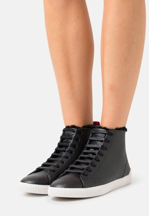 HITO - High-top trainers - black