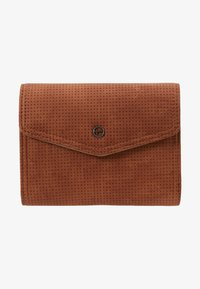Tamaris - ADRIANA SMALL WALLET WITH FLAP - Portemonnee - cognac - 1