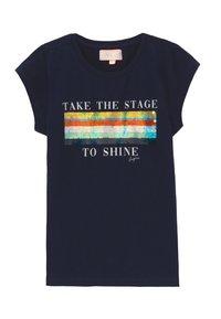 Vingino - HARSINA - Print T-shirt - dark blue - 0