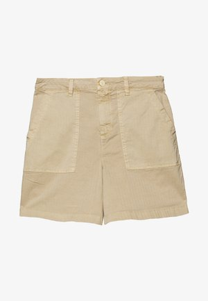CHINOCARGO BERMUDA - Shorts - dark beige/brown