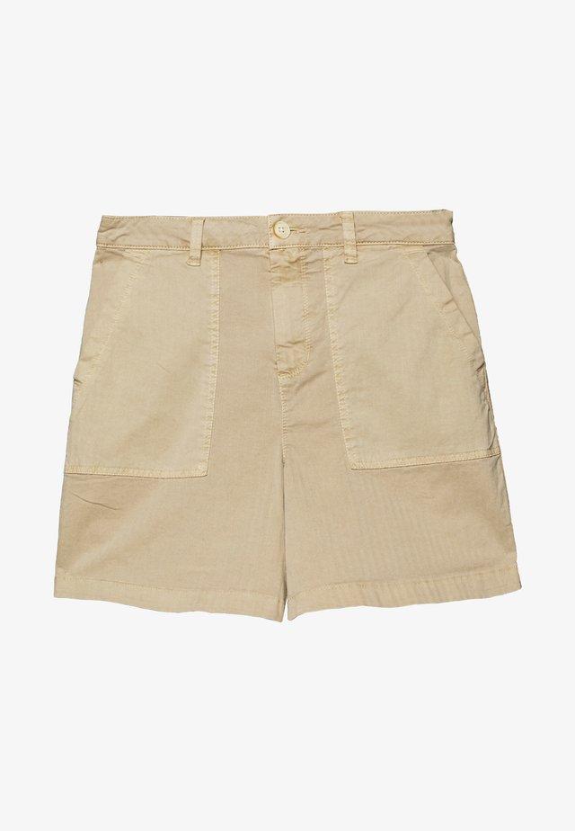 CHINOCARGO BERMUDA - Shorts - dark beige/brown