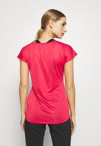 Salewa - PUEZ DRY TEE - Basic T-shirt - rose/red melange - 2
