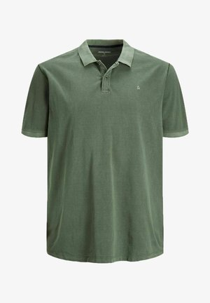 Polo shirt - forest night