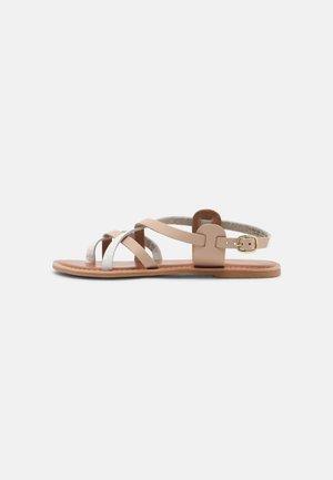 JAMIE GLADIATOR - Sandály s odděleným palcem - white