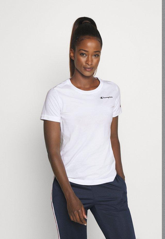ESSENTIAL CREWNECK LEGACY - T-shirt basic - white