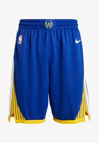Nike Performance - NBA GOLDEN STATE WARRIORS SWINGMAN SHORT - Sports shorts - rush blue/white/amarillo - 4