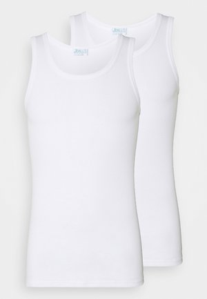 SINGLET 2PACK  - Undershirt - weiss