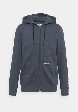 HOODY JACKET  - Felpa aperta - sky captain blue