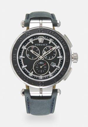 GRECA - Chronograph watch - blue black