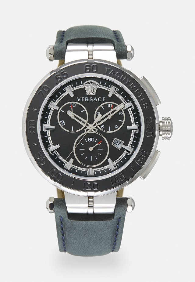 GRECA - Chronograph watch - blue black