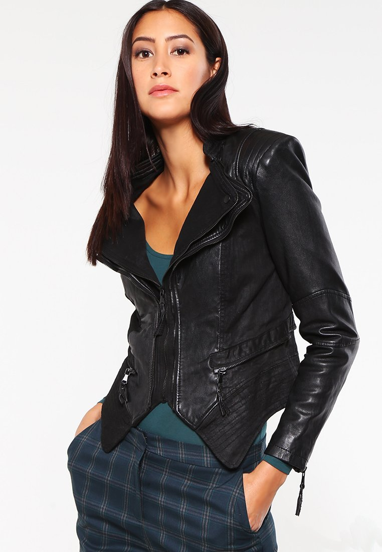 Be Edgy - PIA - Leather jacket - black