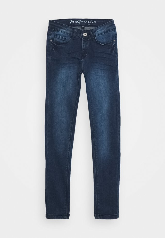 TEENAGER - Jeans Skinny Fit - dark blue denim