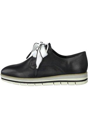MARCO TOZZI - Casual lace-ups - black